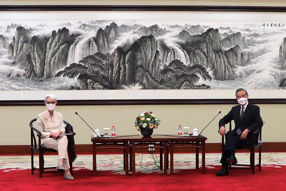 經濟發展-美副國務卿訪華1