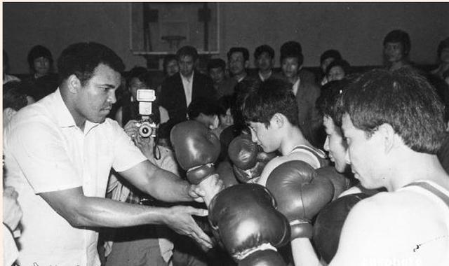 阿里不遺餘力推動中國拳擊發展。(網上圖片)