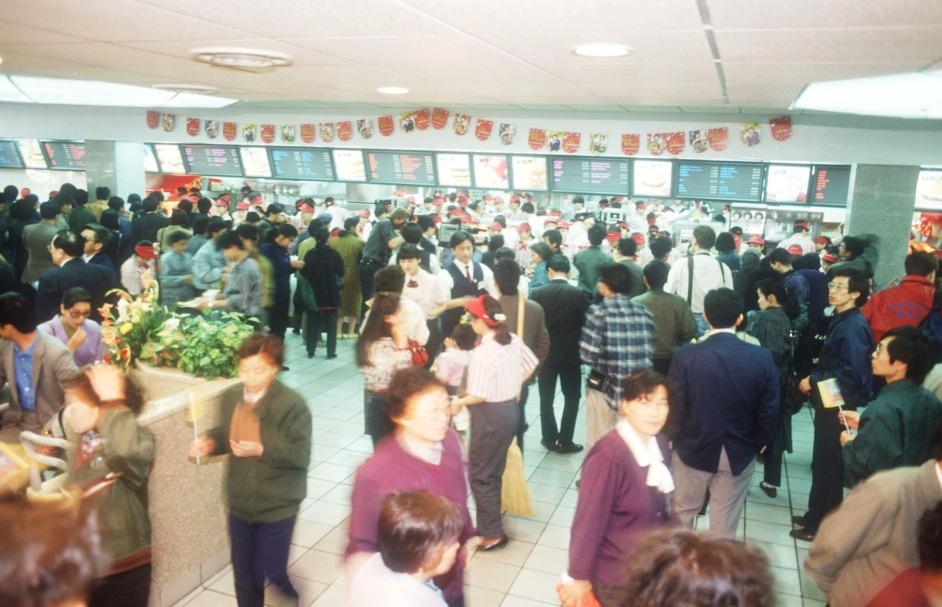 當代中國-焦點中國-改革開放-麥當勞