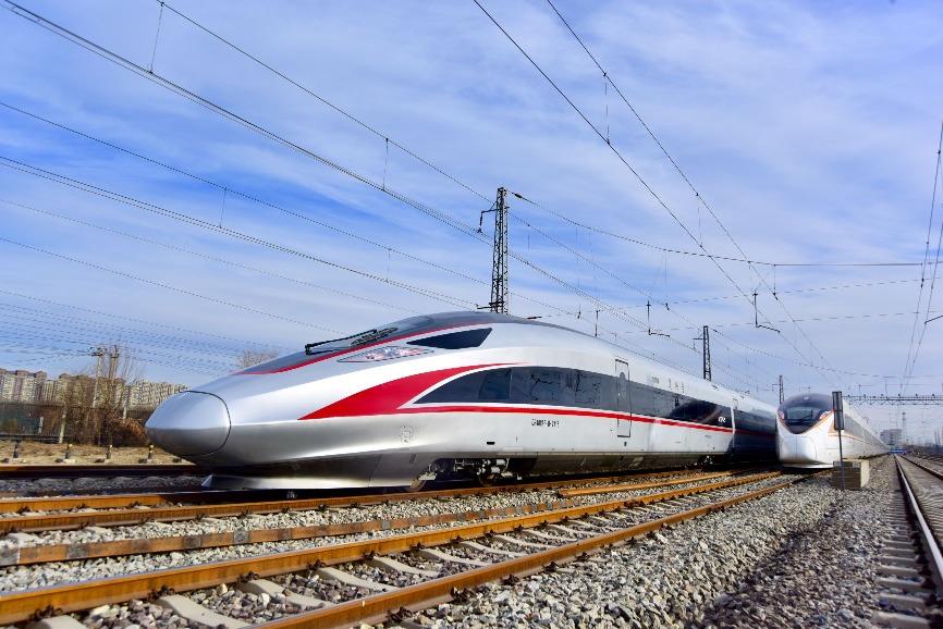 營運時速350公里復興號列車。(圖片來源:人民視覺)