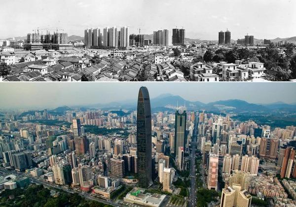 當代中國-改革開放-深圳40年巨變01