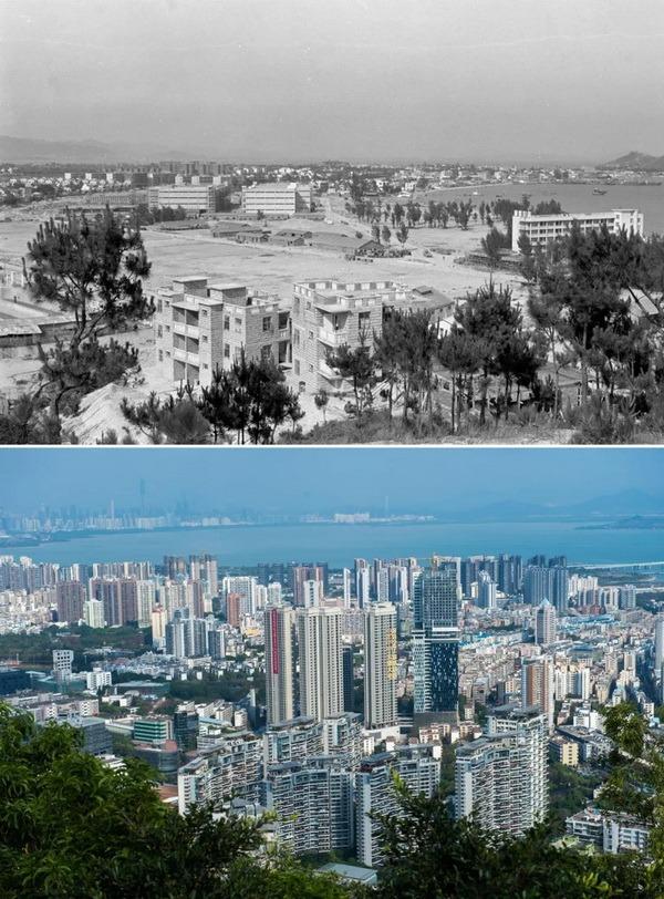 當代中國-改革開放-深圳40年巨變02