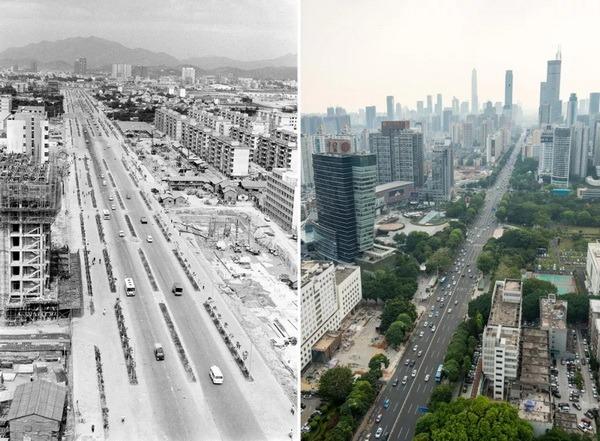 當代中國-改革開放-深圳40年巨變03