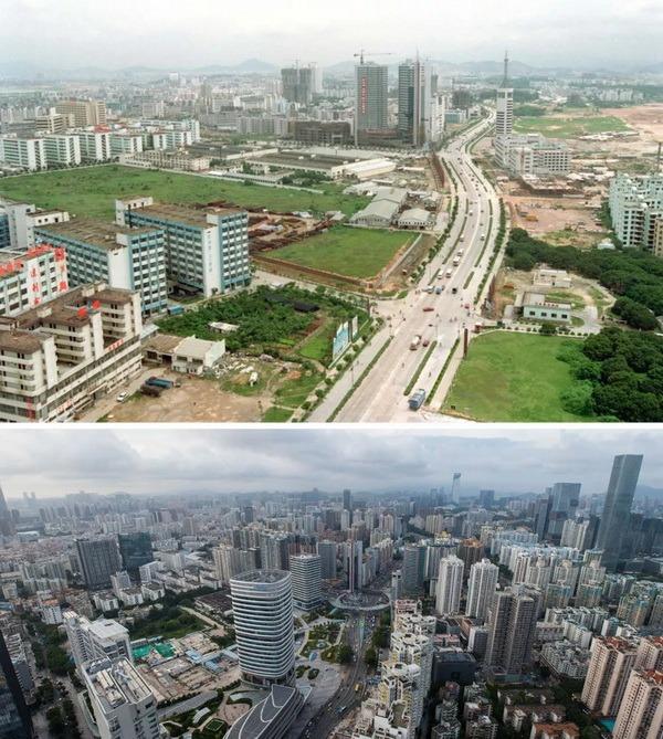 當代中國-改革開放-深圳40年巨變04