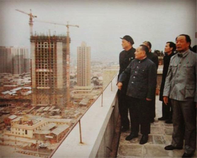 當代中國-改革開放-改革開放經濟特區起動40年GDP急升2,000倍高速發展