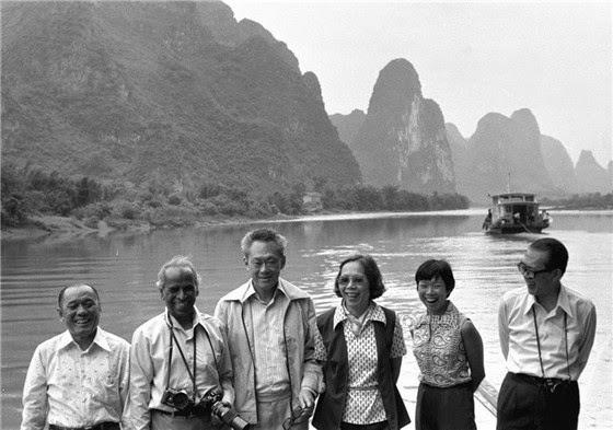 當代中國-改革開放-李光耀破冰之旅鄧小平回訪取經改革開放借鑒新加坡經驗