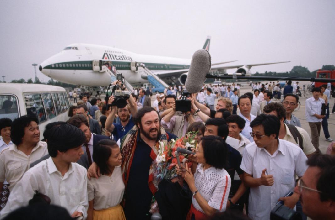 當代中國-改革開放-改革開放世界男高音訪華 巴伐洛堤北京唱意大利歌劇