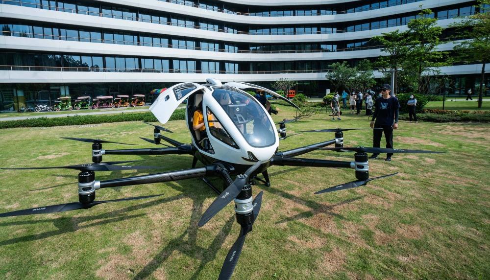 空中的士無人機應用02