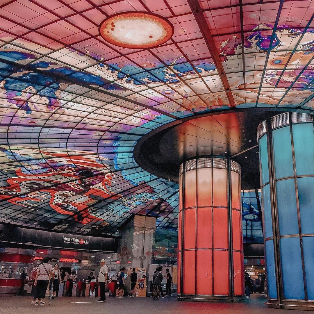 當代中國-中國旅遊-中國文化-台灣-高雄-美麗島站1