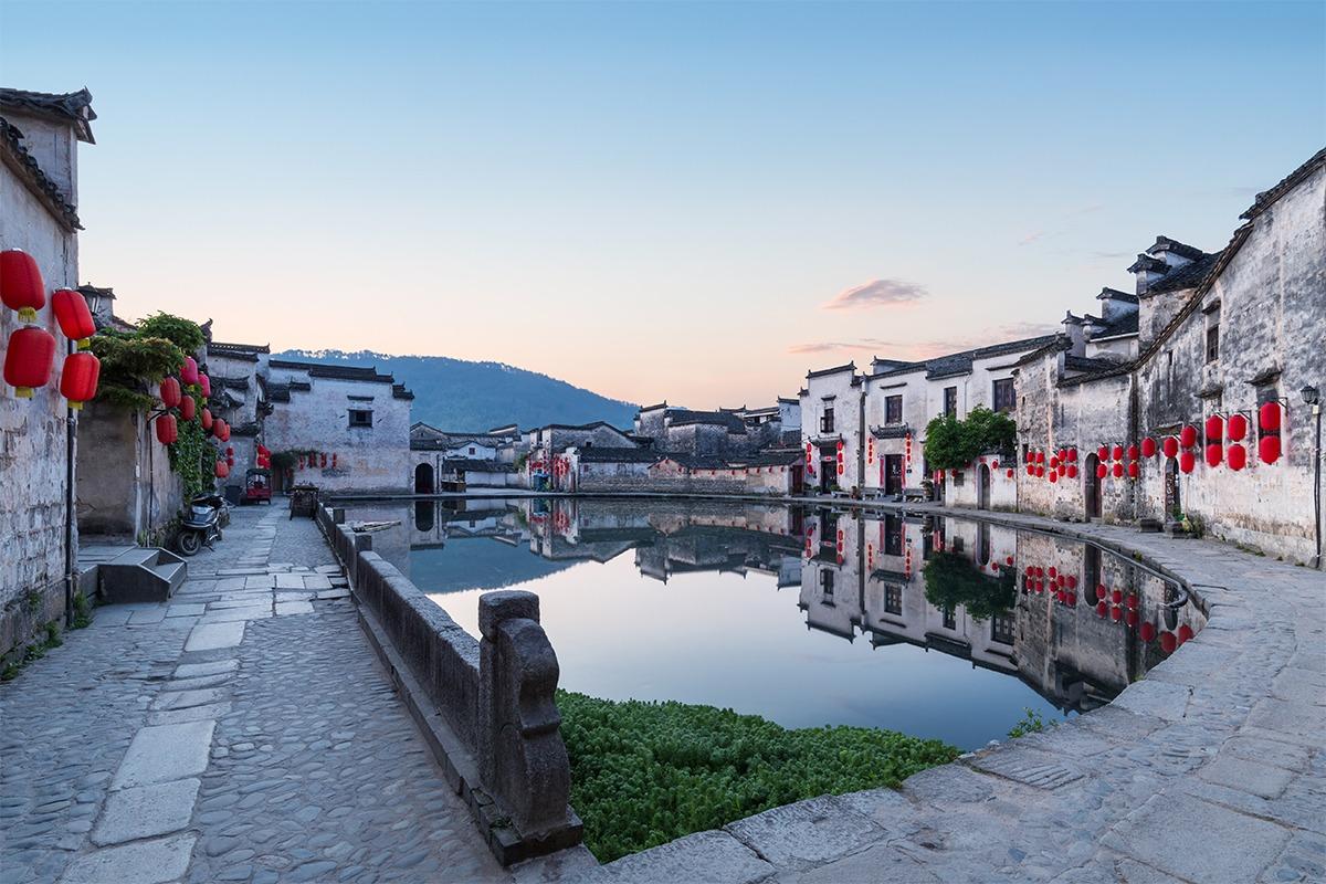 當代中國-中國旅遊-中國文化-安徽-宏村1