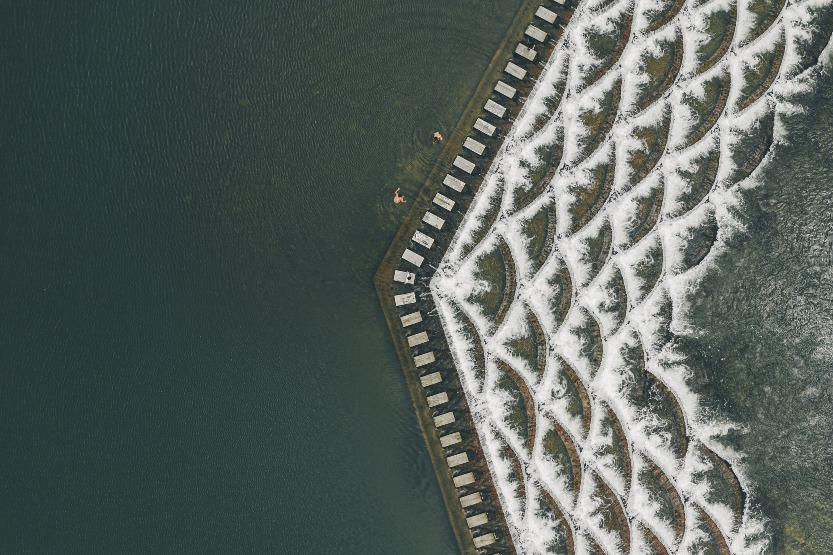 當代中國-中國旅遊-中國文化-杭州-龍鱗壩