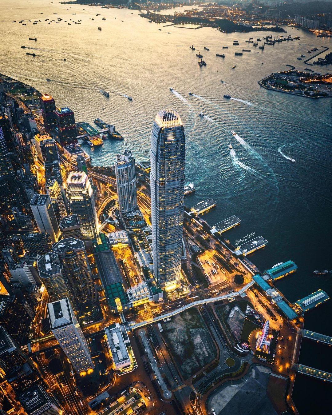 當代中國-中國旅遊-中國文化-香港-國際金融中心-IFC-1