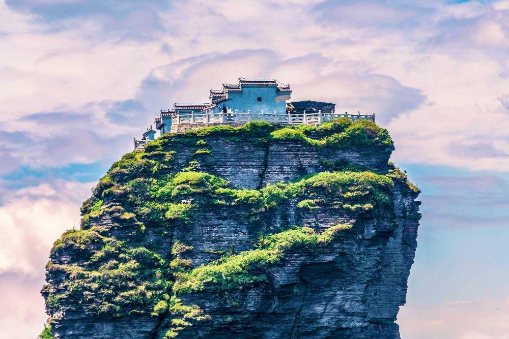 當代中國-中國旅遊-中國文化-貴州-梵淨山-1