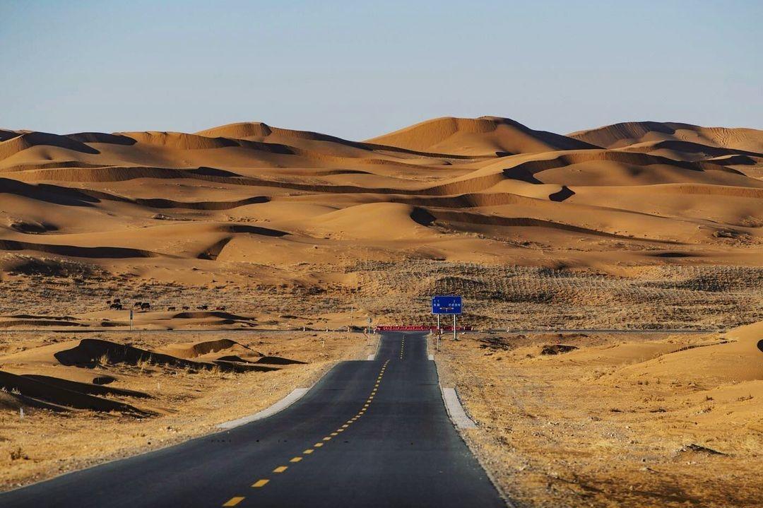 當代中國-中國旅遊-中國文化-寧夏-旅遊-騰格里沙漠-3