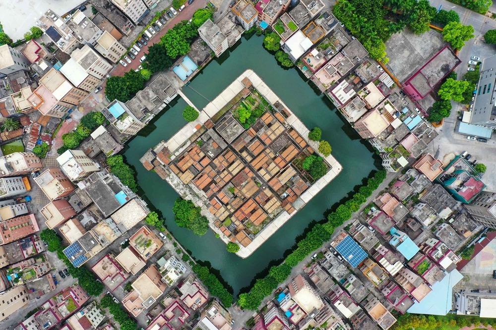 當代中國-中國旅遊-中國文化-粵港澳大灣區-廣東-東莞-逆水流龜村堡-3