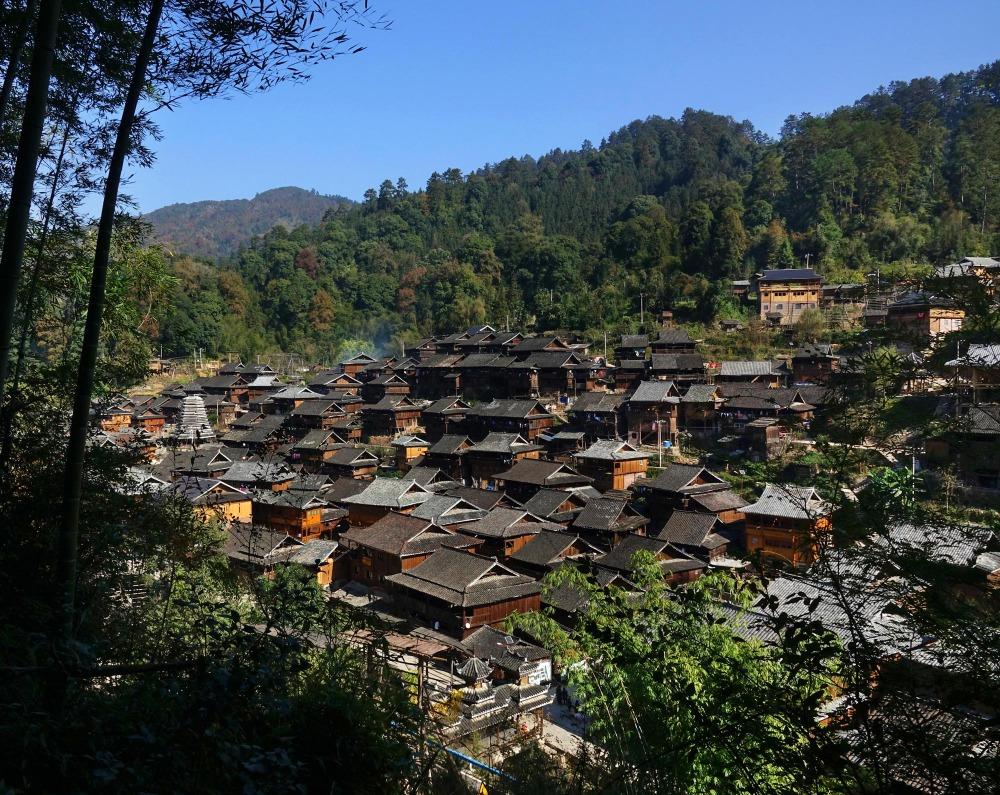 當代中國-中國旅遊-中國文化-貴州-從江-加榜梯田-占里侗寨-1