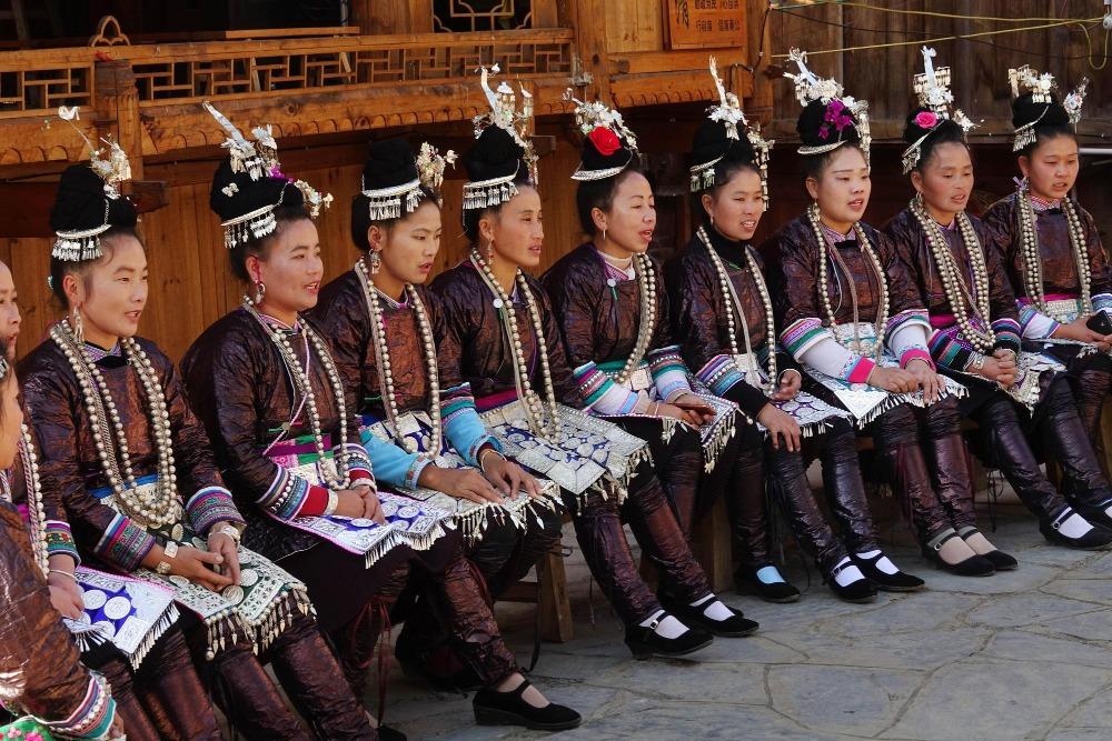 當代中國-中國旅遊-中國文化-貴州-從江-加榜梯田-占里侗寨-2