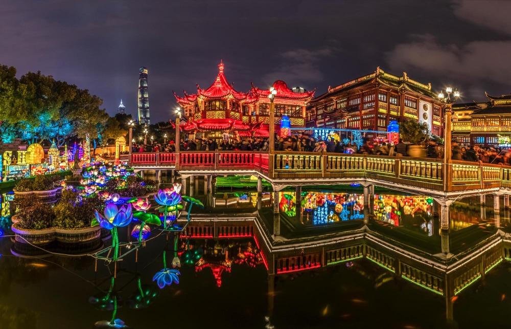 當代中國-中國旅遊-中國文化-上海-豫園-3