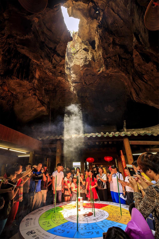 當代中國-中國旅遊-中國文化-廣東-肇慶-出米洞-太極洞-3