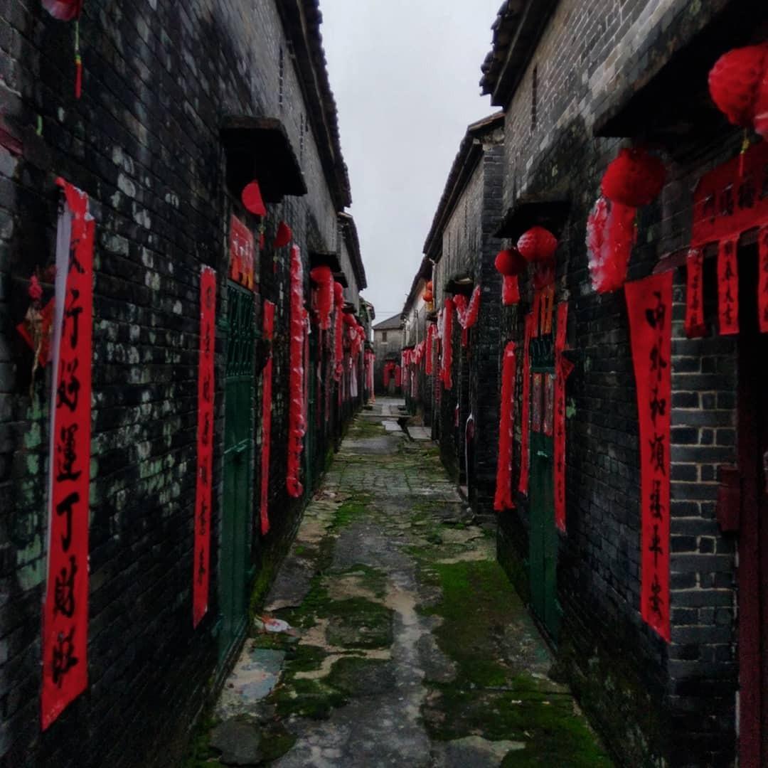 當代中國-中國旅遊-中國文化-廣東-肇慶-高要-八卦村-八卦陣-3