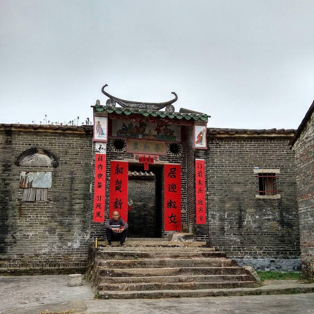 當代中國-中國旅遊-中國文化-廣東-肇慶-高要-八卦村-八卦陣-4