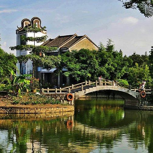 當代中國-中國旅遊-中國文化-廣州-嶺南印象園-1