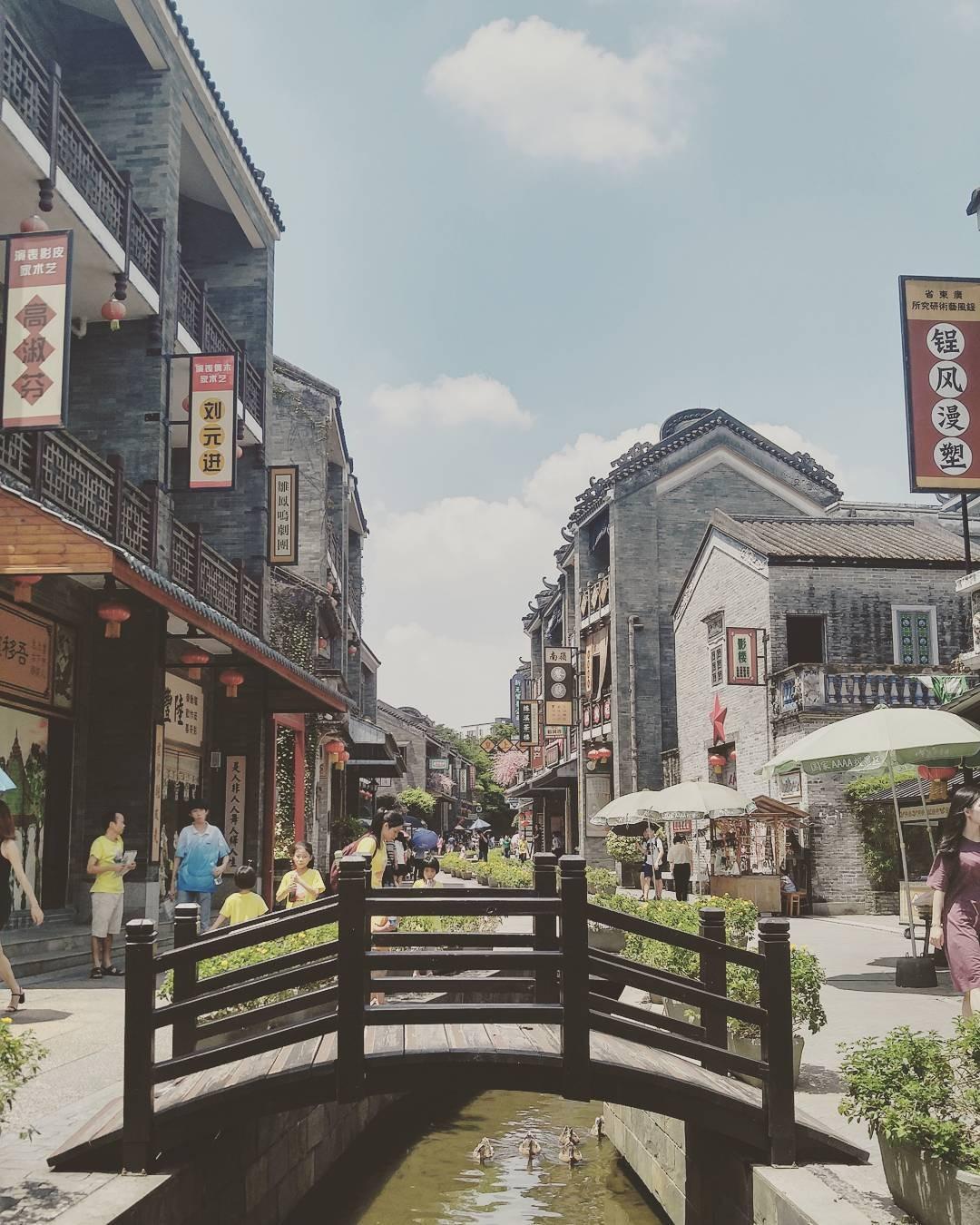 當代中國-中國旅遊-中國文化-廣州-嶺南印象園-2