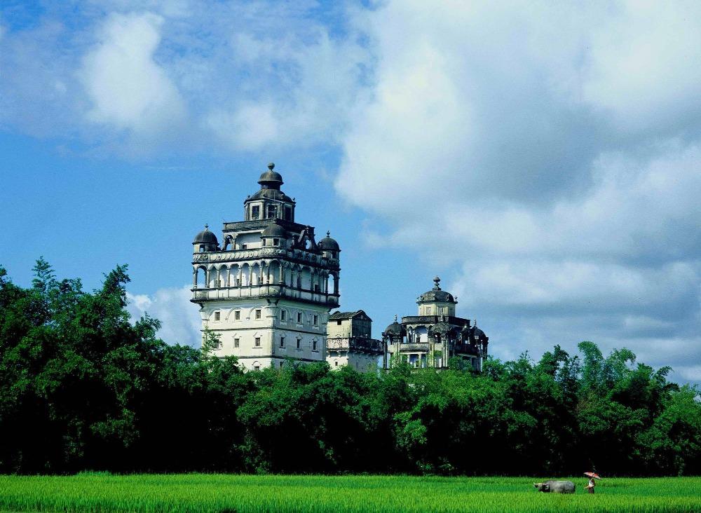 當代中國-中國旅遊-中國文化-廣東-廣東旅遊-開平碉樓-碉樓-3