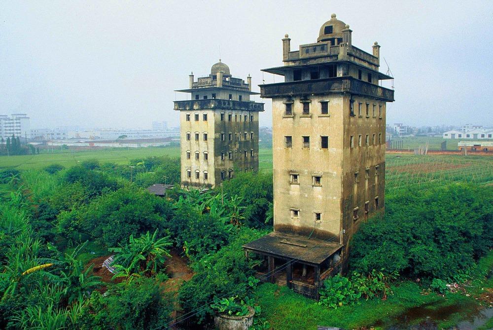 當代中國-中國旅遊-中國文化-廣東-廣東旅遊-開平碉樓-碉樓-4