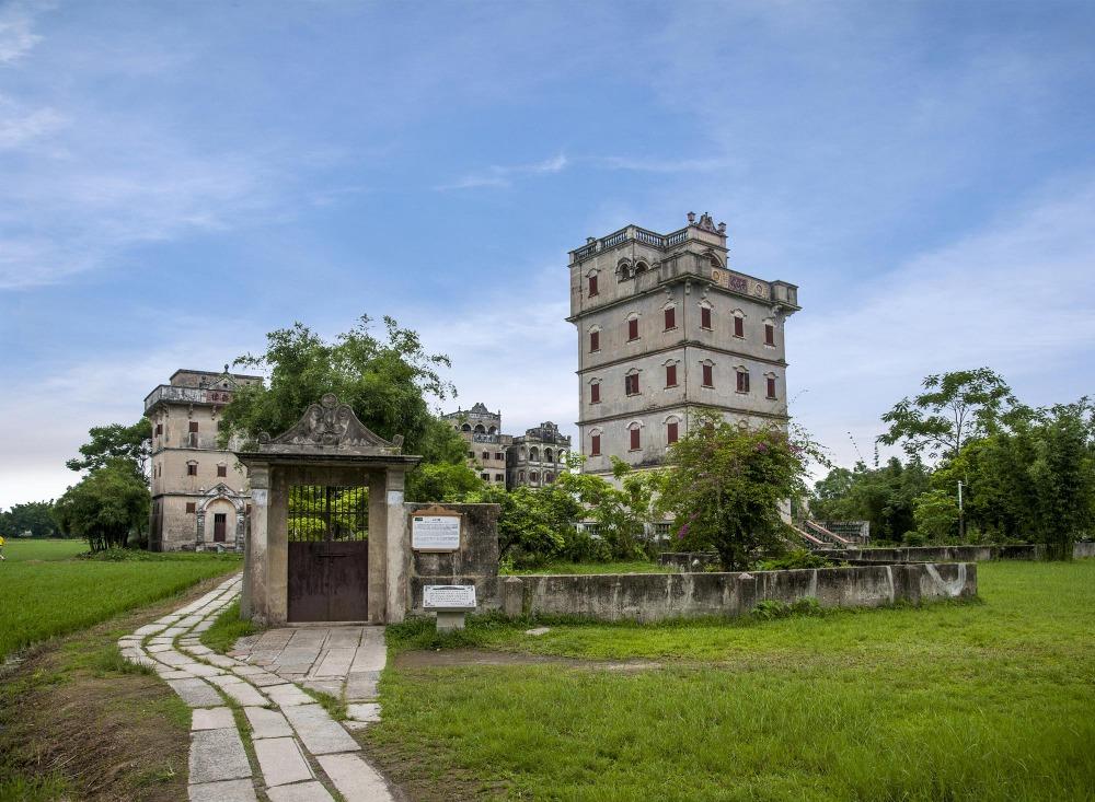 當代中國-中國旅遊-中國文化-廣東-廣東旅遊-開平碉樓-碉樓-6