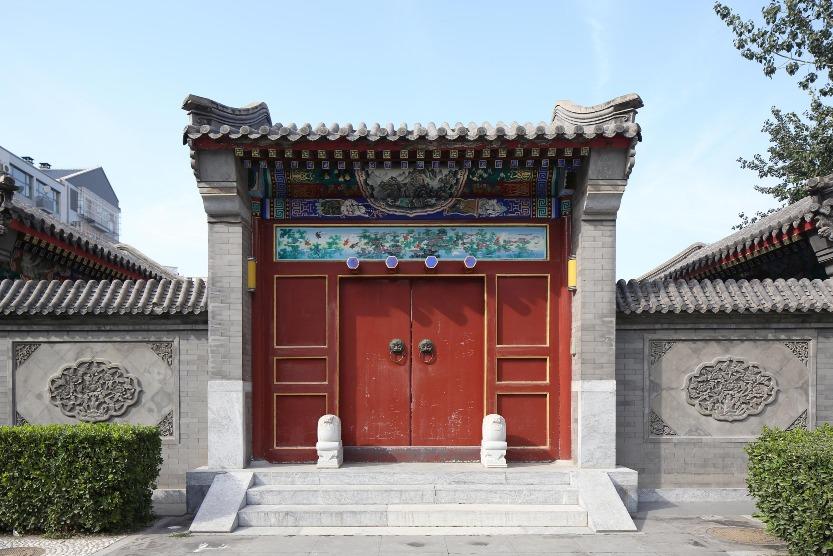 當代中國-中國旅遊-中國文化-北京-四合院-B-1