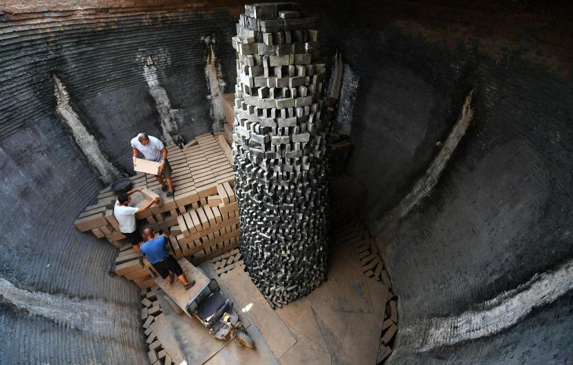 當代中國-中國旅遊-中國文化-古建磚-青磚-建築-1