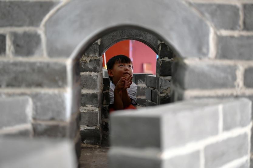 當代中國-中國旅遊-中國文化-古建磚-青磚-建築-2