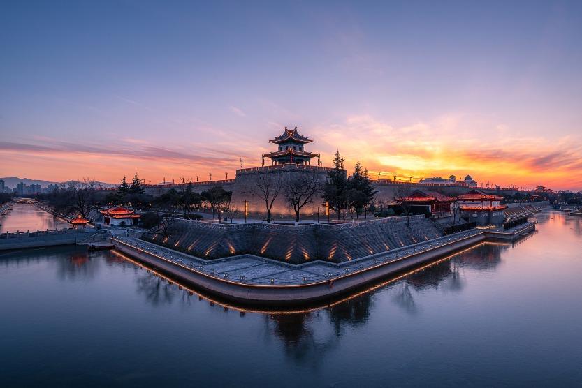當代中國-圖說中國-西安城墻歷史
