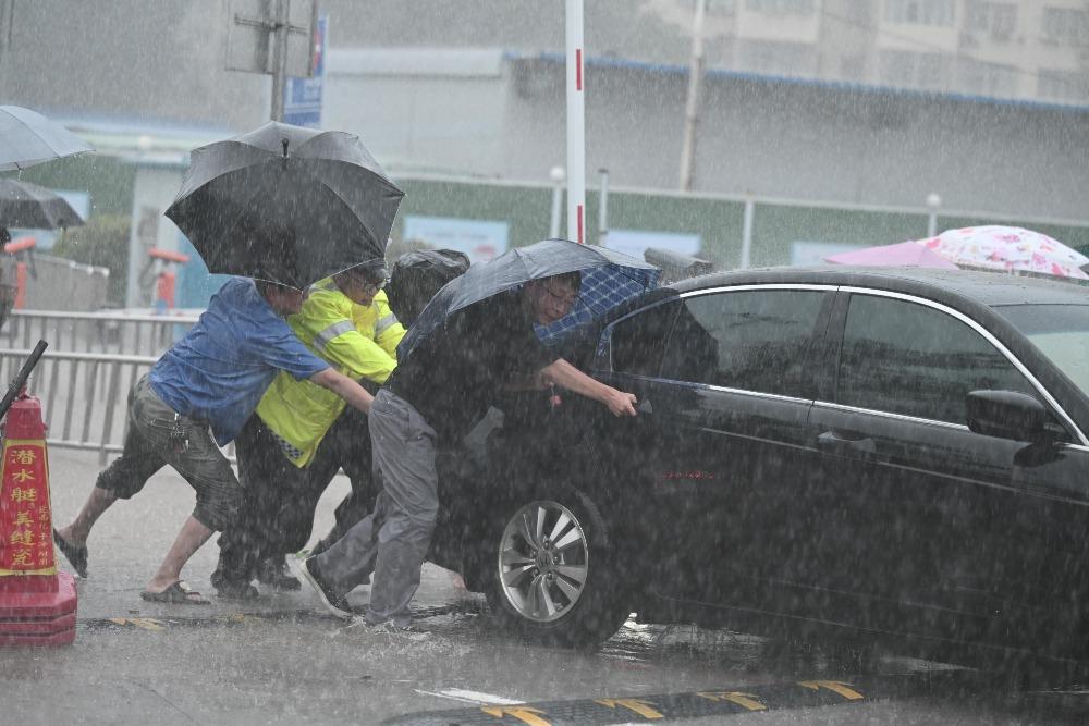 社會民生-河南雨災1
