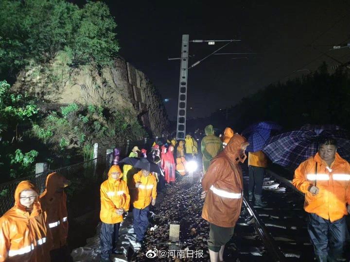 社會民生-河南雨災3