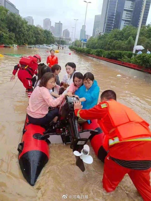 社會民生-河南雨災4