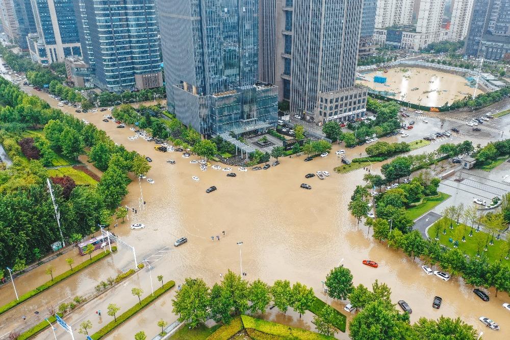 社會民生-河南雨災5