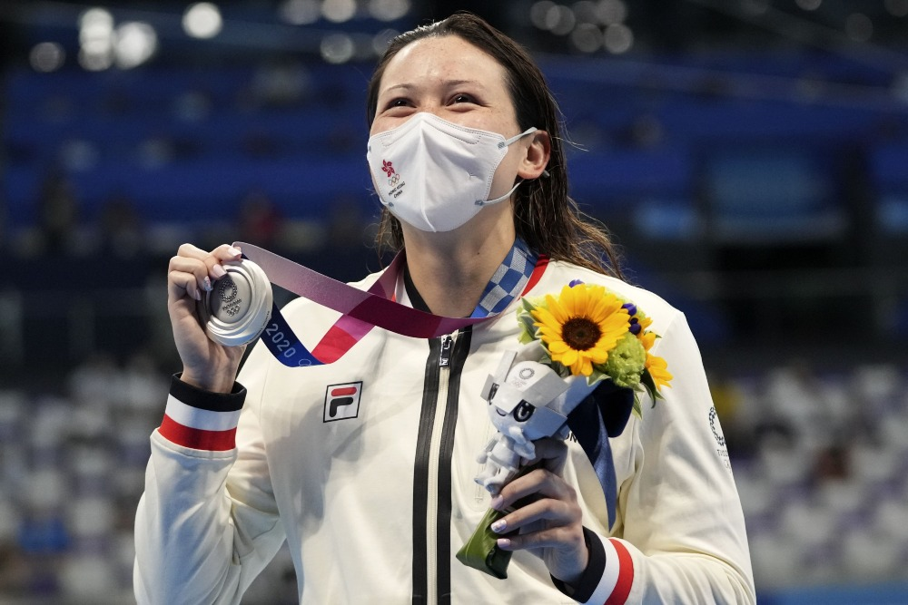 何詩蓓200米自由泳奪銀02