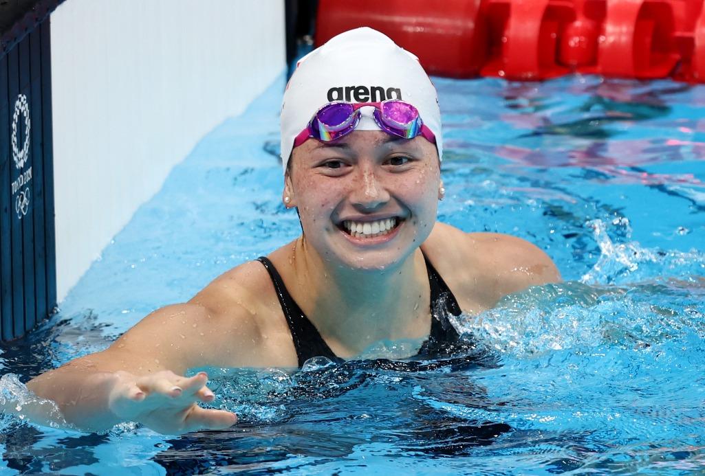 何詩蓓200米自由泳奪銀03