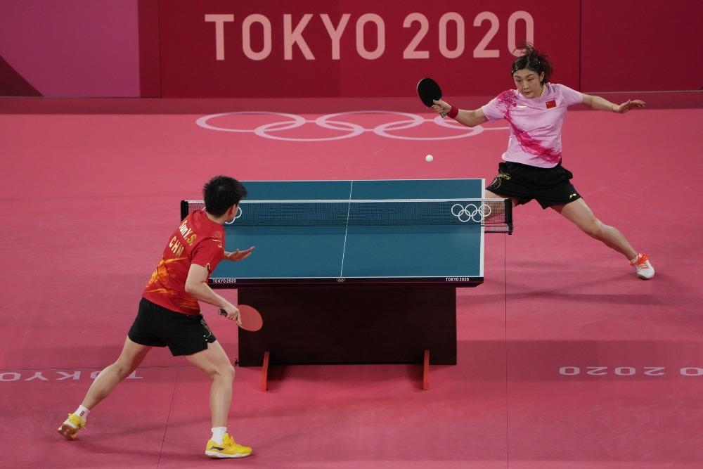 東京奧運-兵乓女子單打