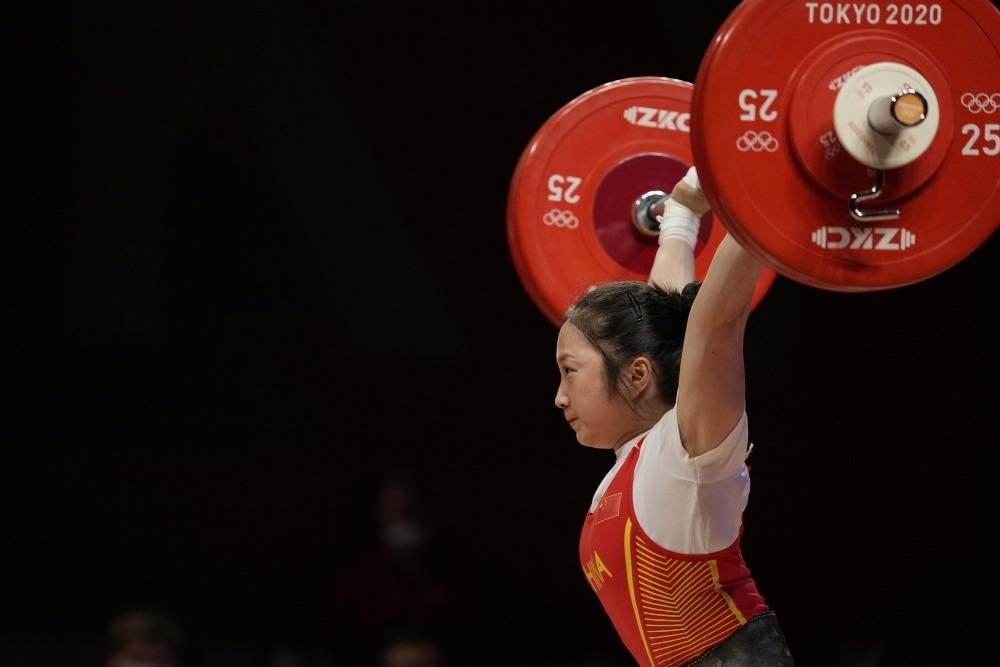 東京奧運-女子舉重55KG