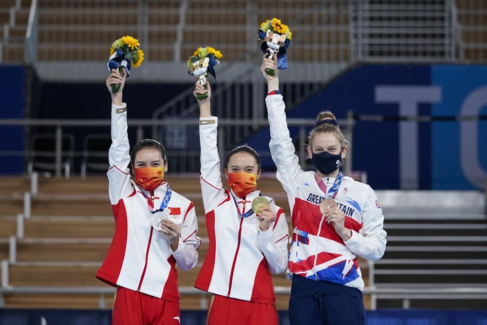 東京奧運-女子蹦床