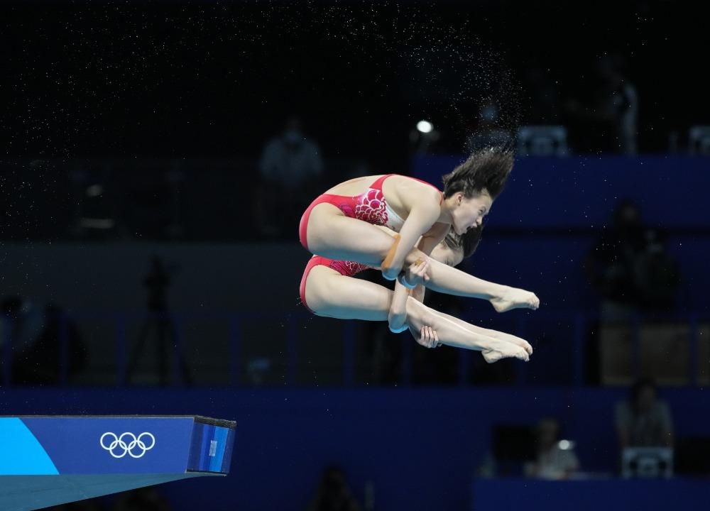東京奧運-女子10米台跳水金牌