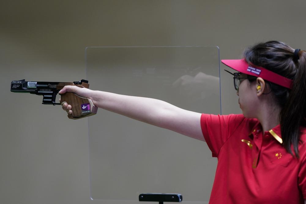 東京奧運-女子25米手槍