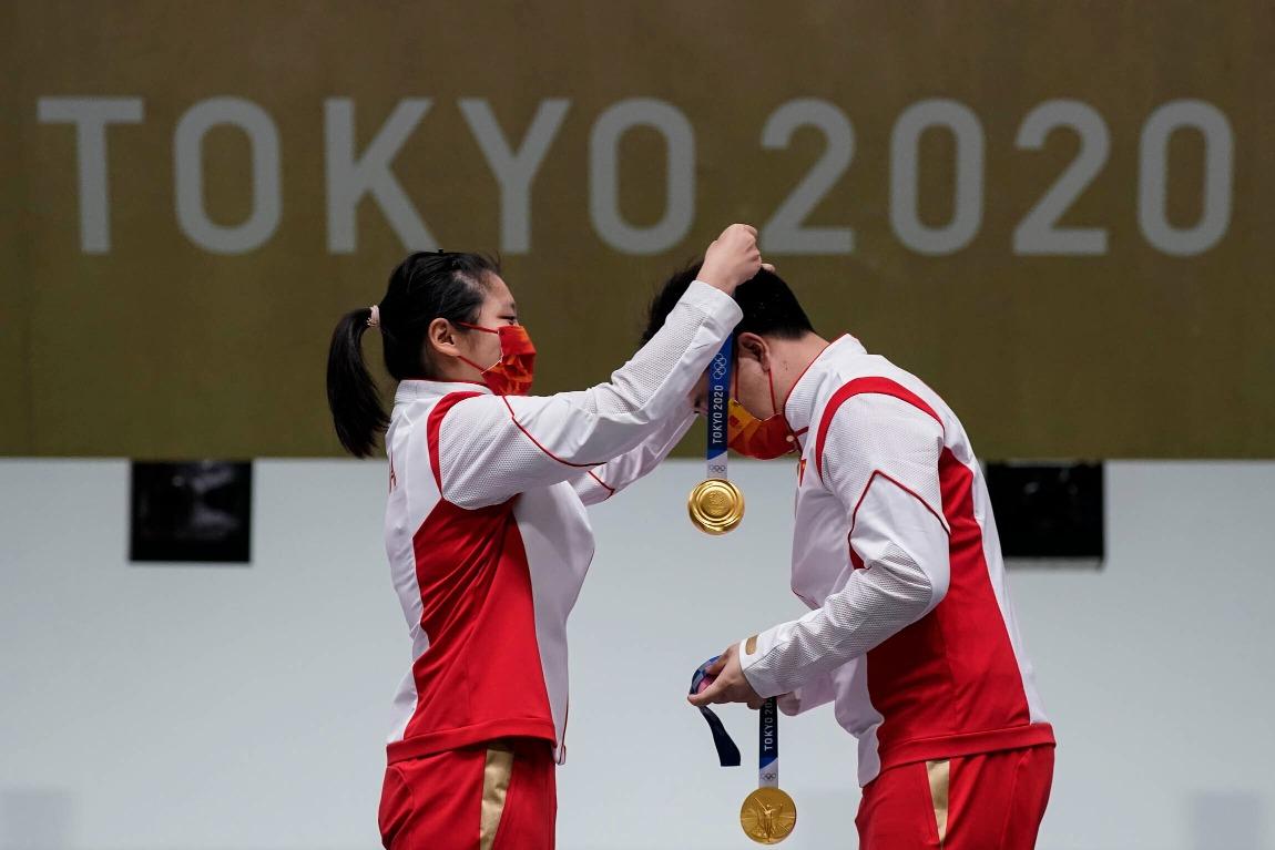 東京奧運-10米氣手槍混合賽