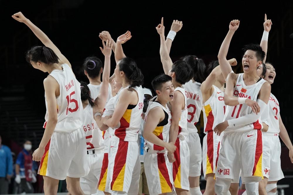 當代中國-體育運動-東京奧運中國女籃兩連勝