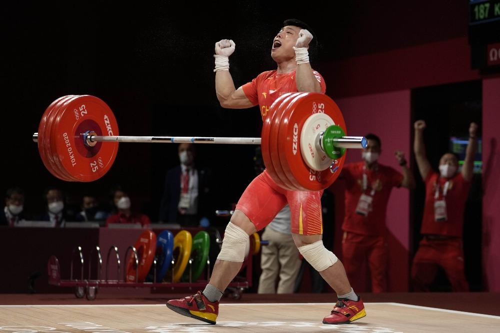 代中國-體育運動-東京奧運諶利軍背水一戰奪冠