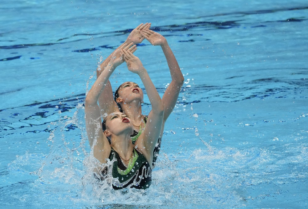 東京奧運-女子花樣游泳