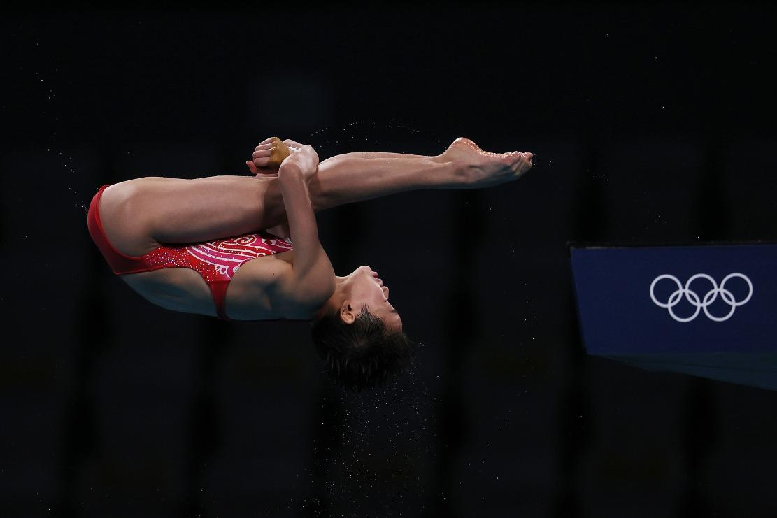 東京奧運-女子10米跳水-全紅嬋